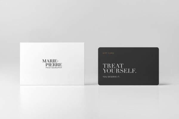 GIFT CARD Treat yourself. You deserve it.